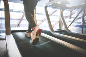 cardio-running-on-a-treadmill-picjumbo-com